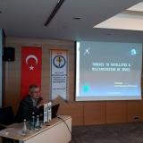 Sıtkı Egeli presented his paper at the Taras Shevchenko 4th International Congress of Social Sciences
