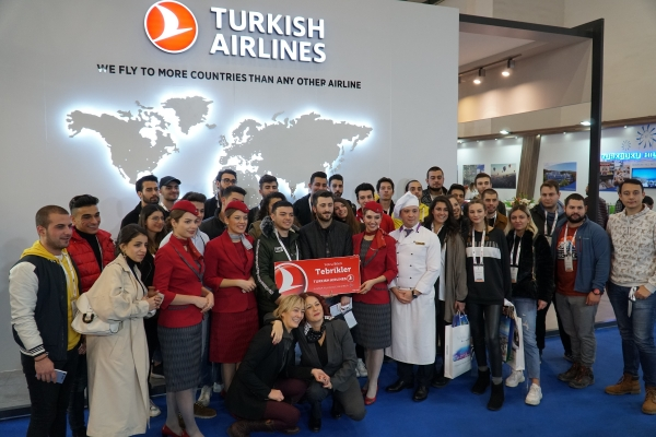 Sivil Havacılık Kabin Hizmetleri Öğrencilerimiz Travel Turkey 2019 Fuarında...