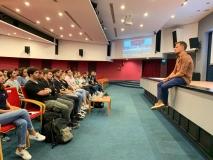 Radyo ve Televizyon Programcılığı Programının İlk Dersi Reklam Merkezi Marka Direktörü Yiğit Sal'dan