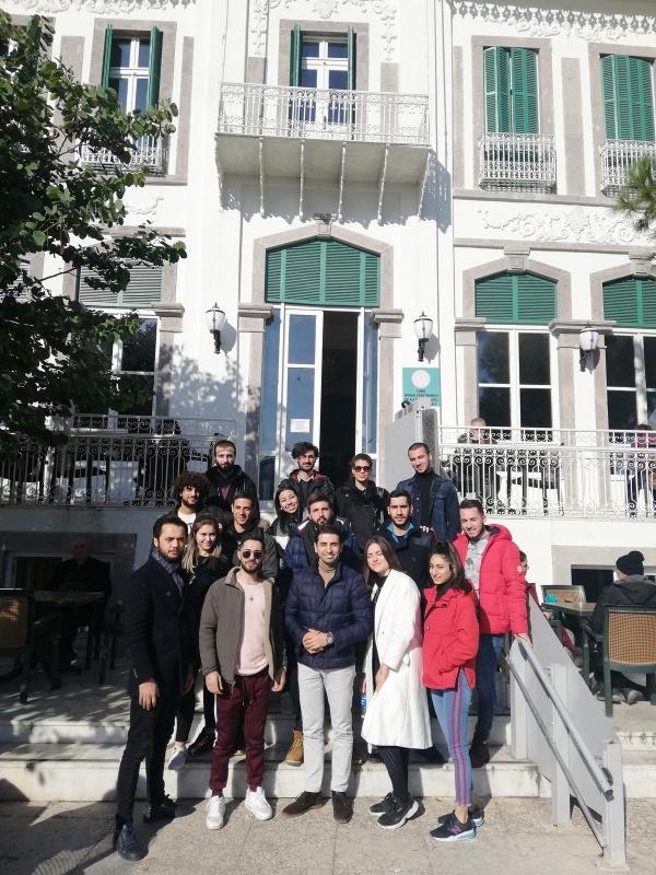 Mimari Restorasyon Programı Öğrencilerimiz Öğretmenevi Lokalini Sanat Merkezine Dönüştürdü