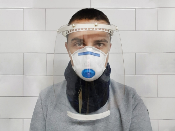'Face shields' for virus fighters