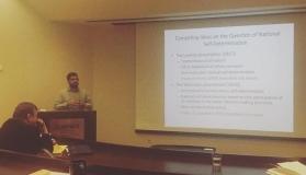 Serhun Al, ABD'deki Utah Üniversitesi'nde düzenlenen 'Trauma, Memory and Modernity in the Young Turkish Republic' isimli konferansa katıldı.