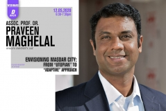 Department of Architecture Webinar Series 1: Praveen Maghelal