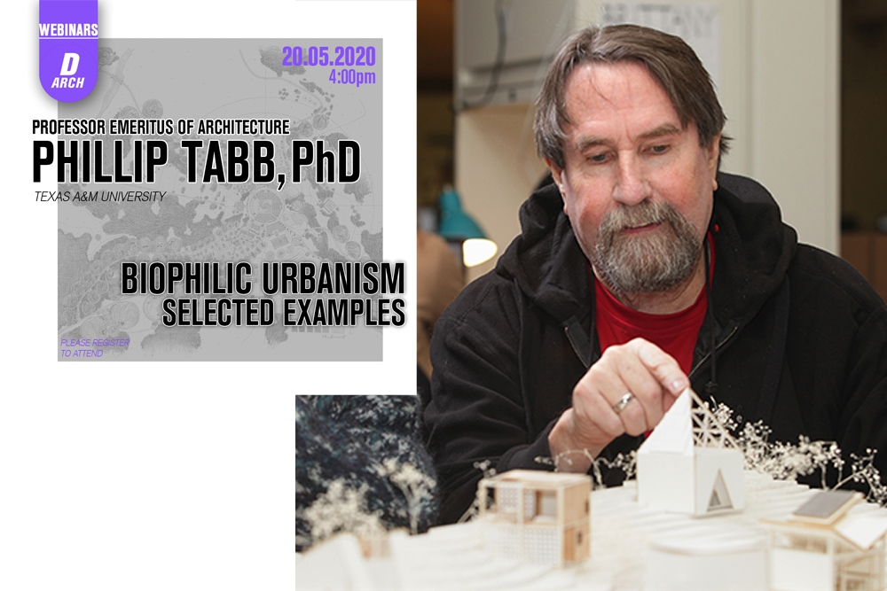Department of Architecture Webinar Series 2: Phillip Tabb, PhD