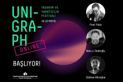 """Unigraph """"Tasarım ve Yaratıcılık"""" Festivali Çevrim İçi Gerçekleştirildi"""