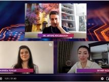 IUE Financiers made guest appearance on Kocabalkan's program