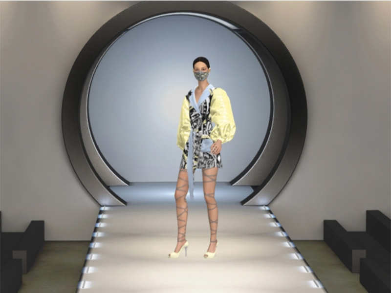 IUE's Digital Graduation Exhibition and Fashion Show
