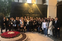 International Trade and Finance Students visited the Capital Markets Board of Turkey and the Central Bank of the Republic of Turkey