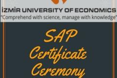 LOG 464 Tedarik Zinciri ve Lojistik Bilgi Sistemleri 2019-2020 Bahar Dönemi SAP Sertifika Töreni