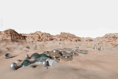 Award for habitat design on Mars