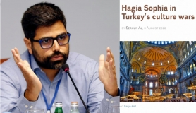 "Serhun Al 'Le Monde Diplomatique' için yazdı: ""Hagia Sophia in Turkey's culture wars"""