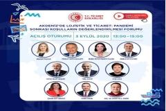 """İEÜ Lojistik Yönetimi Bölüm Başkanı Doç. Dr. Muhittin H. Demir, 2020 İEF İzmir İş Günleri'nde """"Akdeniz'de Ticaret ve Lojistik"""" konulu bir sunum gerçekleştirecek"""