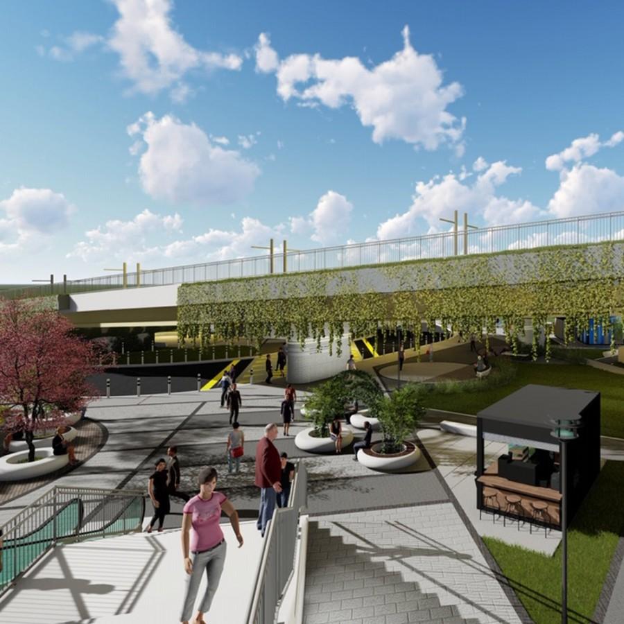 'Halkapınar'ı baştan yaratacak tasarımlar
