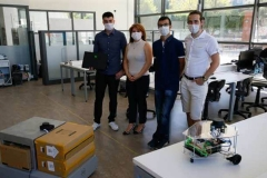 Self-routing autonomous robots by IUE engineers