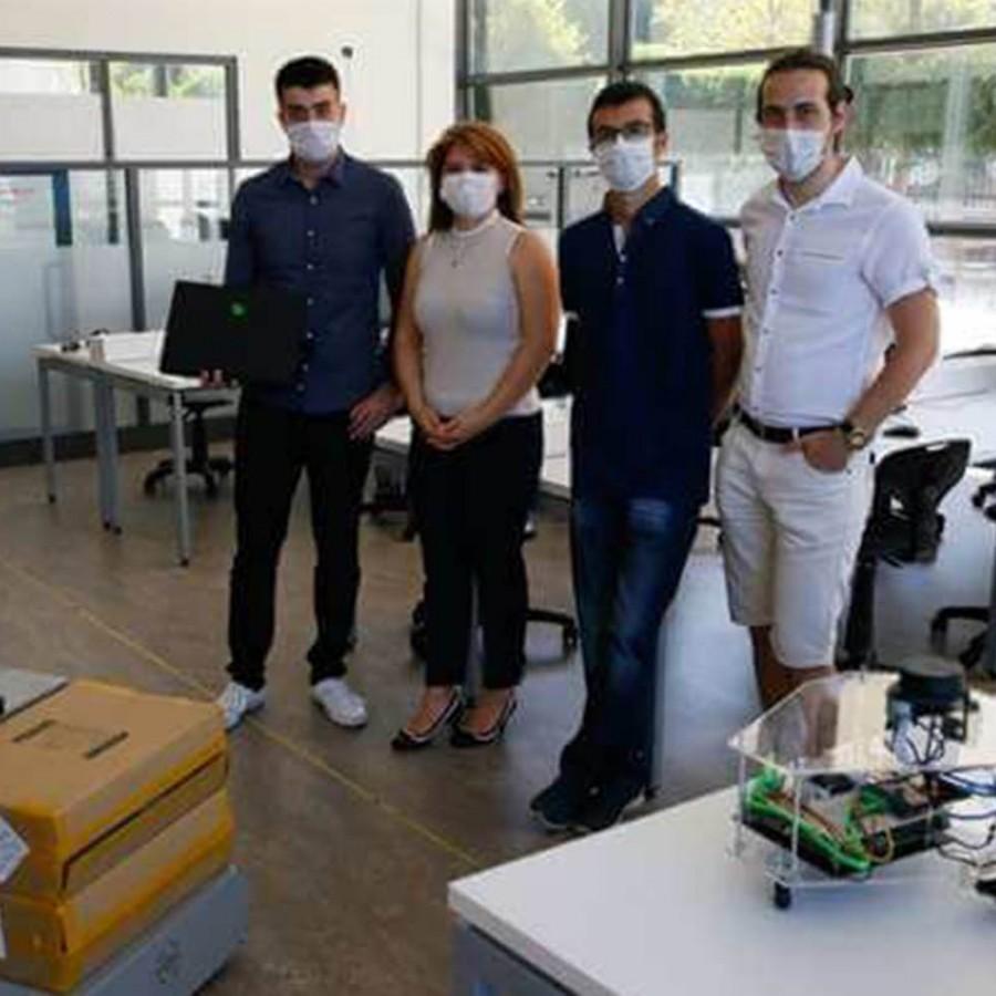 İzmir Ekonomili mühendislerden kendi rotasını belirleyen otonom robot