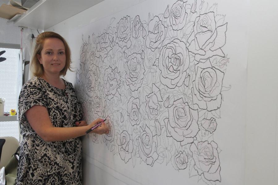 Chosen among 150 artists and represented Turkey