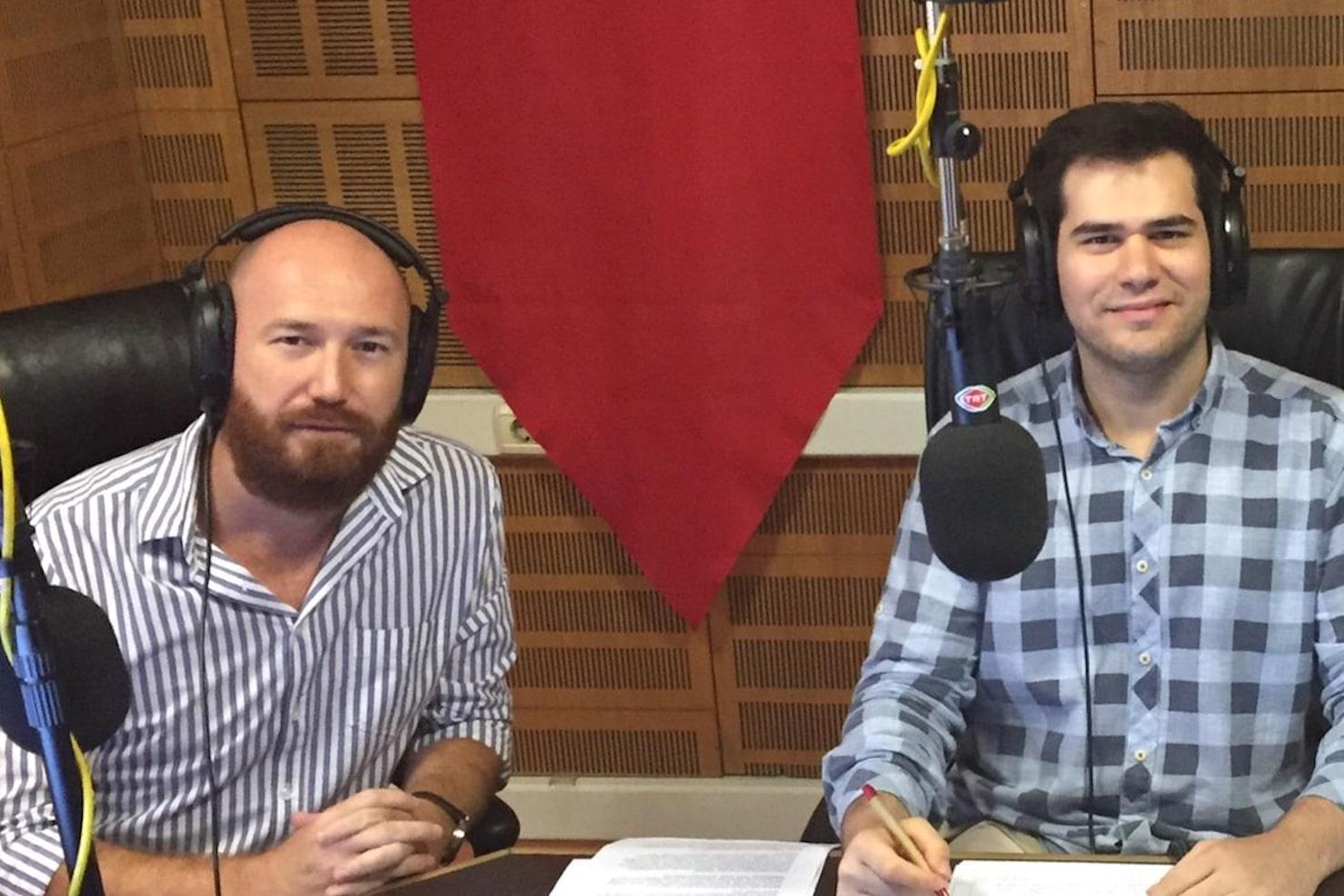 Ozan Arslan TRT Radyo sabah haberlerinde Avrupa'da terör saldırılarını değerlendirdi