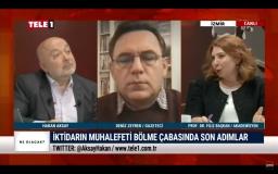 Filiz Başkan Tele1 TV'ye konuk oldu