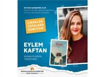 """""""Kovan"""" filminin yönetmeni Eylem Kaftan """"Çıraklar Ustalara Soruyor"""" etkinliğimizin konuğumuz oldu"""