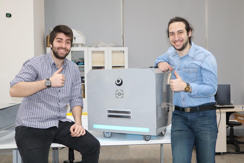 90 dakikada hayat kurtaran robot
