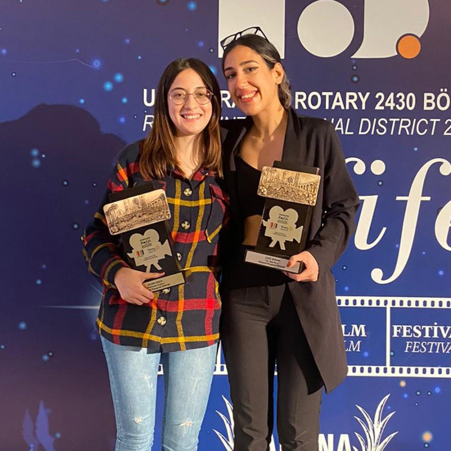 Proud moment for young filmmakers from Izmir