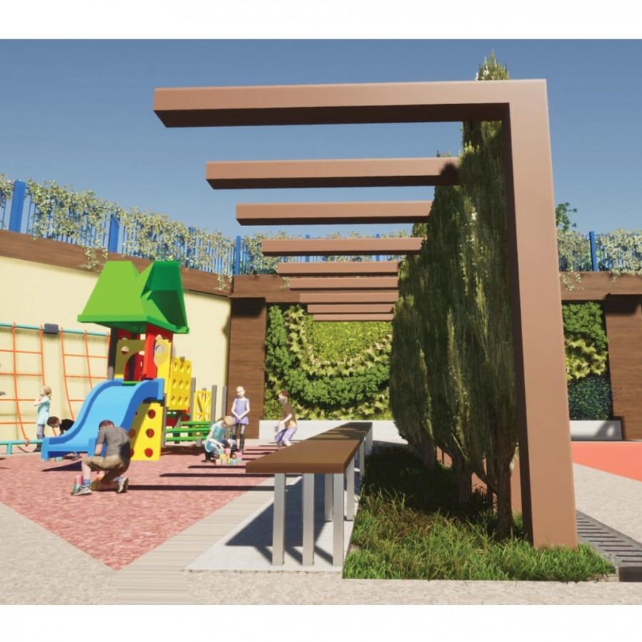 700 öğrenci için 'çevreci kampüs' tasarımı