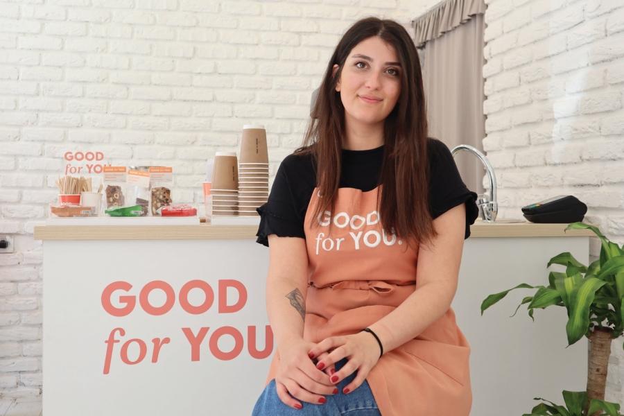 Amerika'dan vazgeçti, İzmir'de kahveci açtı