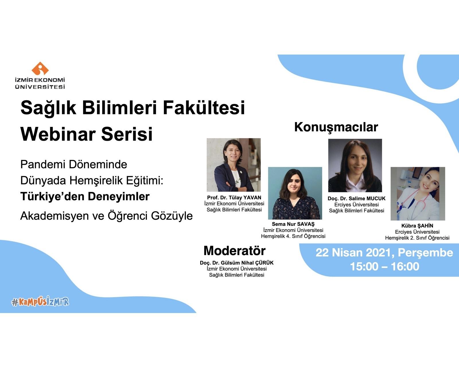 Pandemi Döneminde Dünyada Hemşirelik Eğitimi: Türkiye'den Deneyimler