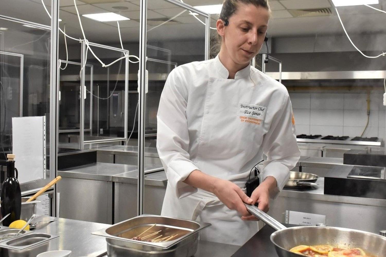 ABD'ye canlı yayında 'Türk mutfağı' dersi
