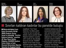 """Itır Bağdadi """"Sınırları Kaldıran Kadınlar"""" Paneline katıldı"""