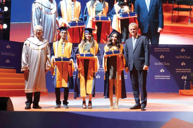 Graduation Enthusiasm at Izmir University of Economics
